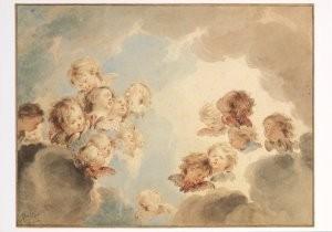 Jacob de Wit (1696-1754) -Jakobus de Wit/Serafijnen/AHM- Postkaart