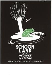Jan Lavies (1902-2005) -Jan Lavies/St.milieubeschermin- Postkaart