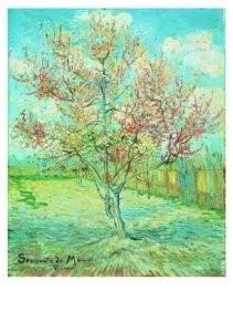 Vincent van Gogh (1853-1890) -Bloeiende bomen- Postkaart
