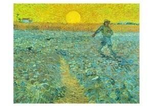 Vincent van Gogh (1853-1890) -Zaaier - Sower, 1888- Postkaart