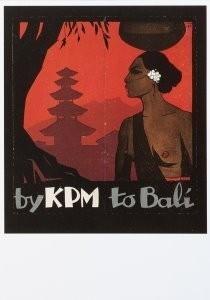 Jan Lavies (1902-2005) -Omslag folder Koninklijke Pakket Maatschappij, 192- Postkaart