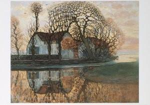 Mondriaan (1872-1944)Mondrian -Boerdrij,Duivend- Postkaart