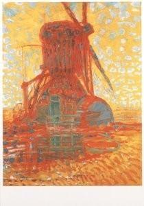Mondriaan (1872-1944)Mondrian -Molen bij zonlicht- Postkaart