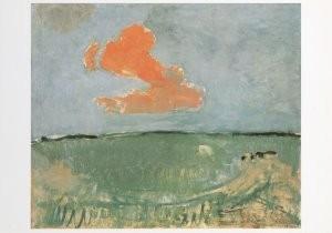Mondriaan (1872-1944)Mondrian -Mondriaan/De rode wolk    /HGM- Postkaart