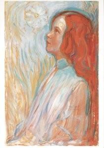 Mondriaan (1872-1944)Mondrian -Devotie- Postkaart
