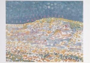 Mondriaan (1872-1944)Mondrian -Duin II- Postkaart