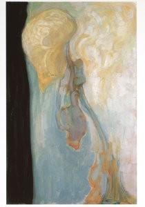Piet Mondriaan (1872-1944) -Mondriaan/Stervende chrysa/HGM- Postkaart