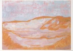 Piet Mondriaan (1872-1944) -Duin IV- Postkaart