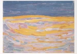 Mondriaan (1872-1944)Mondrian -Mondriaan/Duin I          /HGM- Postkaart