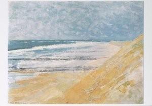 Mondriaan (1872-1944)Mondrian -Strand,Domburg- Postkaart