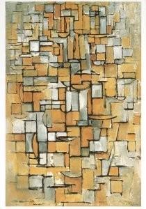 Mondriaan (1872-1944)Mondrian -Mondriaan/Comp.lijn & kleur/KM- Postkaart