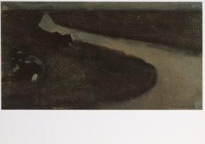 Mondriaan (1872-1944)Mondrian -Sloot en koeien- Postkaart