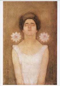 Mondriaan (1872-1944)Mondrian -Passiebloem, 1908?- Postkaart