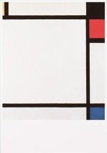 Piet Mondriaan (1872-1944) -Mondriaan/ Tableau NX/- Postkaart