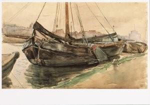 Mondriaan (1872-1944)Mondrian -Mondriaan/Gem.Schuiten/HGM- Postkaart