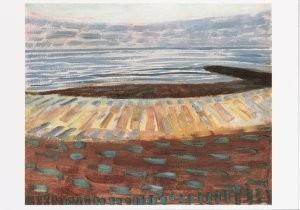 Mondriaan (1872-1944)Mondrian -Mondriaan/Zee na zonsonder/HGM- Postkaart