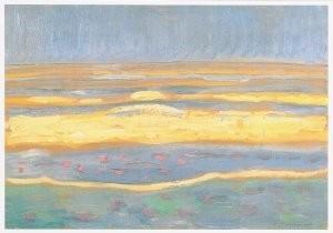 Mondriaan (1872-1944)Mondrian -Zeegezicht, 1909- Postkaart