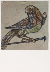 Anoniem, -Tegeltabl.det./Mus.L.v.Meerten- Postkaart