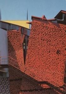 Ralph Richter -Exterieur met blik op tore/GrM- Postkaart