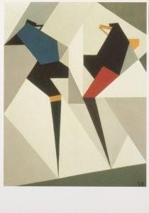 Thijs Rinsema (1877-1947) -T.Rinsema/2 voetbalspelers/CMU- Postkaart