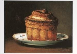Guillaume Fouace (1827-1895) -La pate en croute- Postkaart