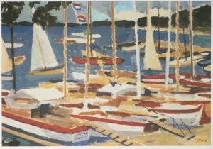 Jan Altink (1885-1971) -J. Altink/Paterswoldse Meer- Postkaart