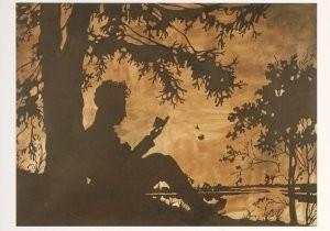 Andrej Roiter -The Dream of a Hero- Postkaart
