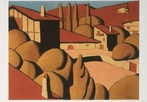 Felix Tobeen (1880-1938) -Baskisch landschp- Postkaart