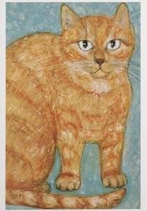 Dorinde van Oort (1946) -Max Meulenbelt- Postkaart