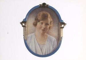 Franz Ziegler (1893-1939) -F.Ziegler/Prinses Juliana /HON- Postkaart