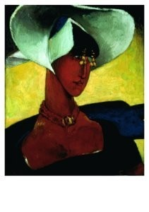 Reimond Kimpe (1885-1970) -Meisje met juk- Postkaart