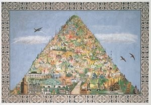 Hugo Kaagman (1955) -H.Kaagman/Mini-wereld- Postkaart