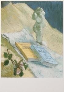 Vincent van Gogh (1853-1890) -Stilleven met gipsbeeldje - Still life with plaste- Postkaart