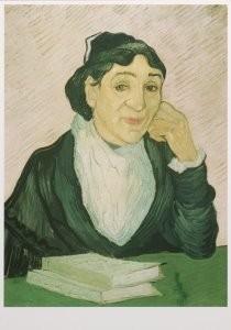 Vincent van Gogh (1853-1890) -De Arlesienne (Madame Ginux), 1890- Postkaart