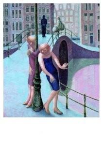 Herman Gordijn (1932-2017) -Singel.- Postkaart