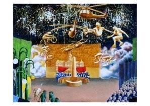 Herman Gordijn (1932-2017) -De Dam (boven)- Postkaart