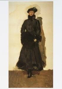 Isaac Israels (1865-1934) -Mata Hari, 1916- Postkaart