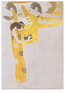 Gustav Klimt (1862-1918) -Poesie, 1902- Postkaart