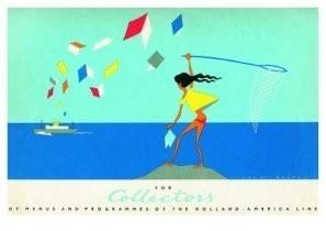 Jan Lavies (1902-2005) -Tekening verzamelenve- Postkaart
