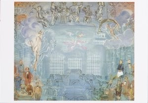 Raoul Dufy (1877-1953) -R.Dufy/The Allegory of Electri- Postkaart