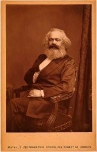 IIvSG, -Karl Marx, 1875- Postkaart