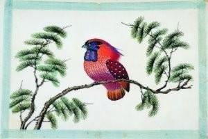 Anoniem -Vogels uit album Chinese schil- Postkaart