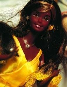 Mattel, -Christie,Barbieserie- Postkaart