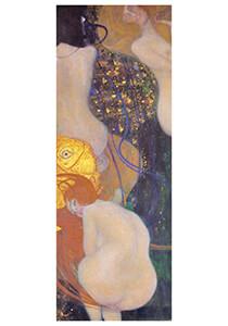 Gustav Klimt (1862-1918) -Goldfische, 1901 - 1902- Postkaart