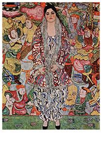 Gustav Klimt (1862-1918) -Portrait of Friederike Maria Beer, 1916- Postkaart