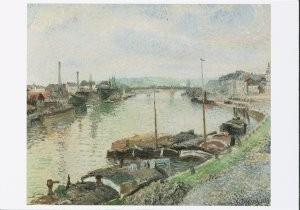 Camille Pissarro (1830-1903) -C.Pissarro/The Stone Bridge- Postkaart