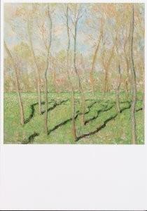 Claude Monet (1840-1926) -C.Monet/View of Bennecourt- Postkaart