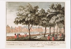 Johannes v. Call (1656-1706) -J.van Call/Viervoudig/KB- Postkaart