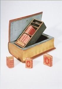 Mandelgreen -Boekbank, Middelburg, 1757- Postkaart