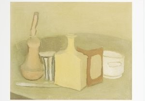Giorgio Morandi (1890-1964) -Still Life (Natura Morta), 1945- Postkaart